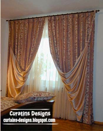 curtain designs and draperies for bedroom luxury embossed curtains
