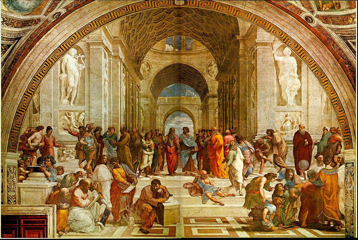 Iwuart Italy 2011 School Of Athens Raphael Math Wallpaper Golden Find Free HD for Desktop [pastnedes.tk]