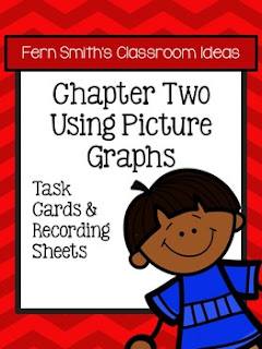 Fern Smith's Classroom Ideas Using Picture Graphs Task Cards, Recording Sheets and Answer Keys with no Common Core at TeacherspayTeachers.