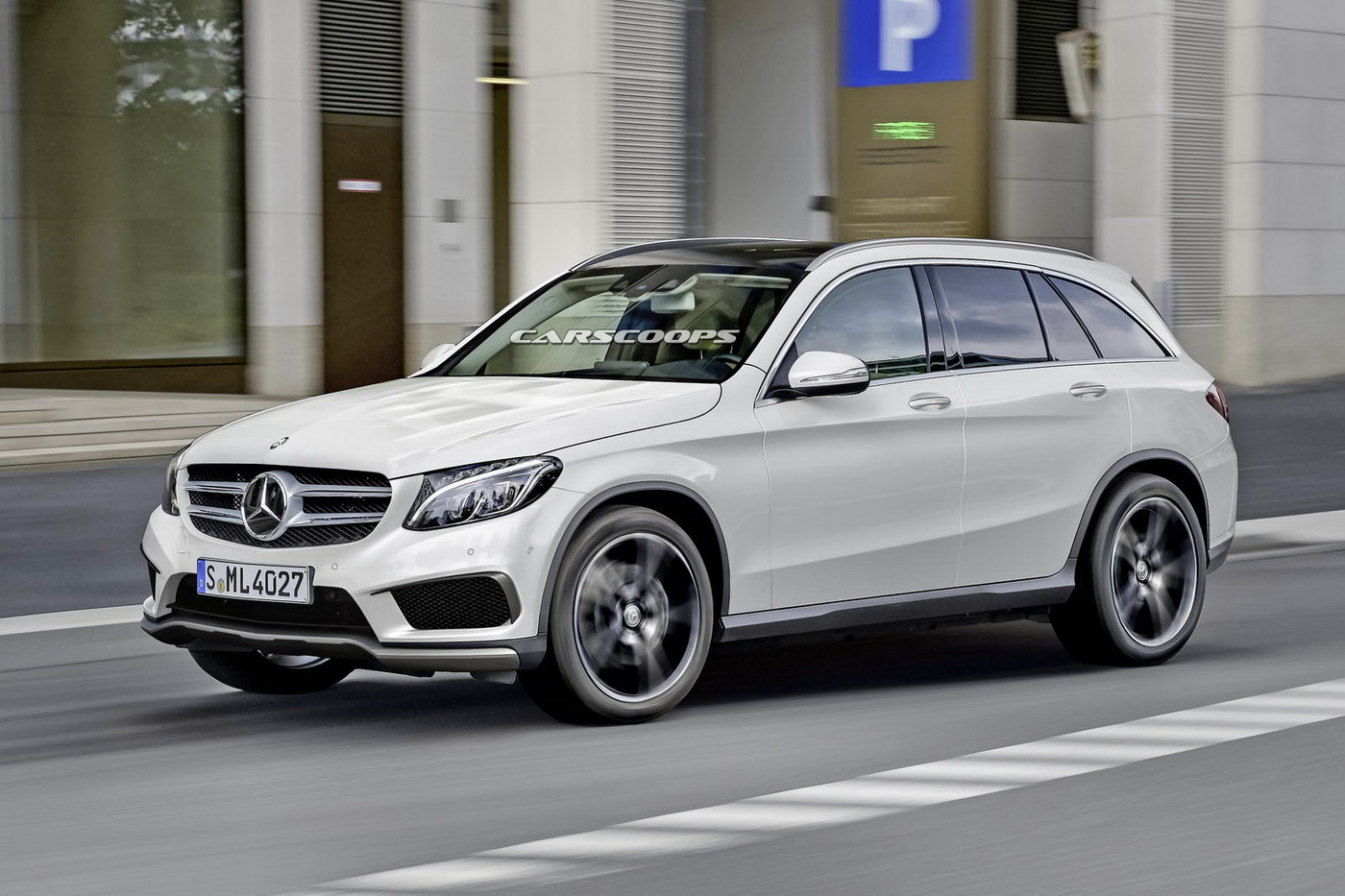 scoop new mercedes glc plug in hybrid coming this fall carscoops. Black Bedroom Furniture Sets. Home Design Ideas