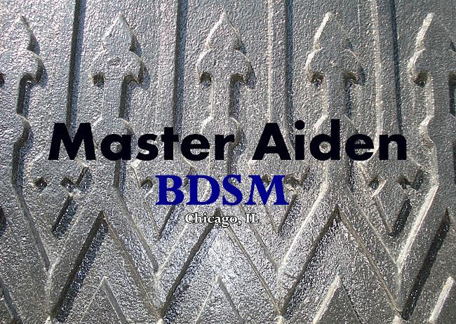 Master Aiden BDSM