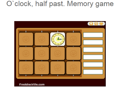 http://www.freddiesville.com/games/telling-time-oclock-half-past-memory-game/