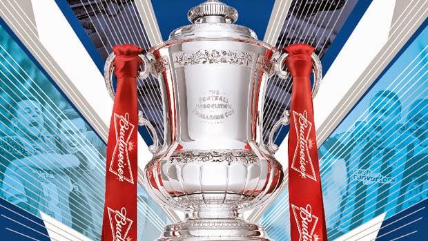 Keputusan Undian Separuh Akhir Piala FA Inggeris 2014 2015