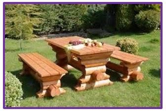 Interesting Awesome Lindos Muebles Para Jardn Con Troncos De Madera With  Muebles Para Jardines With Como Hacer Muebles De Jardin.
