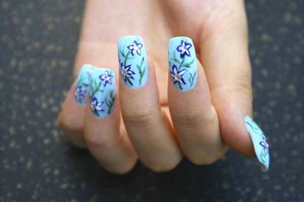 Nail art fai da te micropittura su unghie prinsesfo Gallery