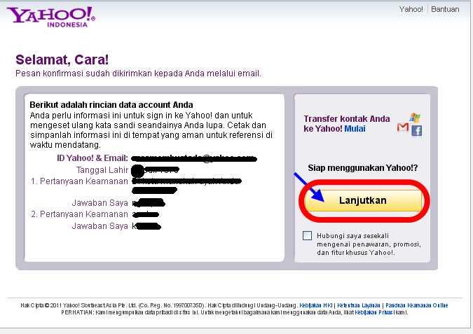Cara Membuat Email | Daftar Email baru di Yahoo | Gratis
