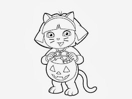 Hard Halloween Coloring Pictures
