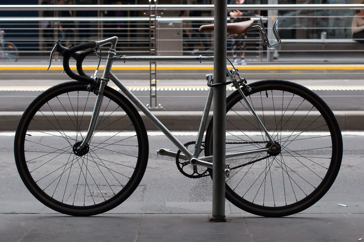 njs, single speed, bike, bicycle, tim macauley, the biketorialist, melbourne, track frame, conversion, presto