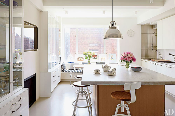 Isaac Mizrahi's Home in Architectural Digest