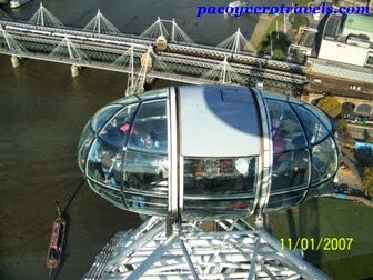 Capsulas del London Eye