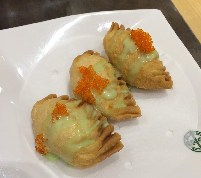 D20 - Wasabi Salad Prawn Dumpling
