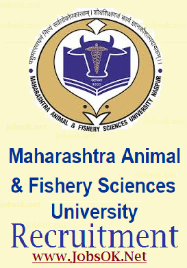 Maharashtra Animal & Fishery Sciences University - MAFSU Recruitment 2014