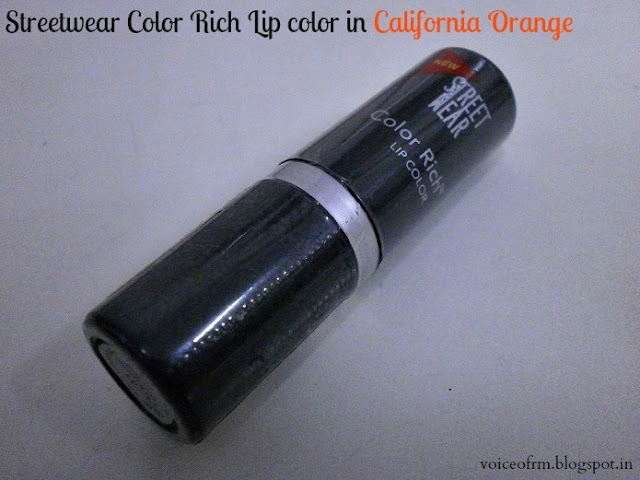 Street wear Color Rich Lip Color in California Orange
