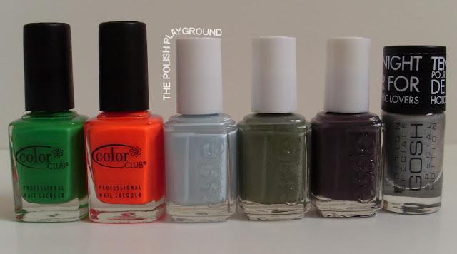 Color Club, Essie, Gosh