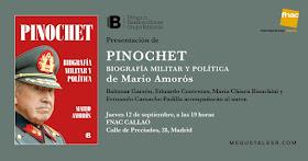 Pinochet. Biografía militar y política, de Mario Amorós