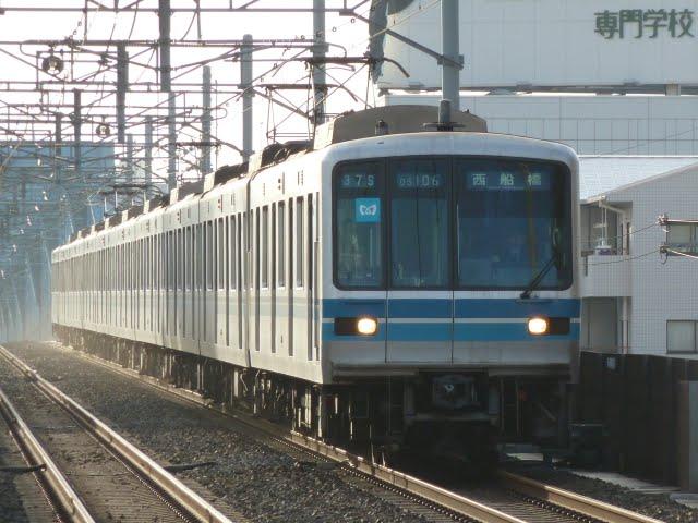 東京メトロ東西線 西船橋行き2 05系幕式