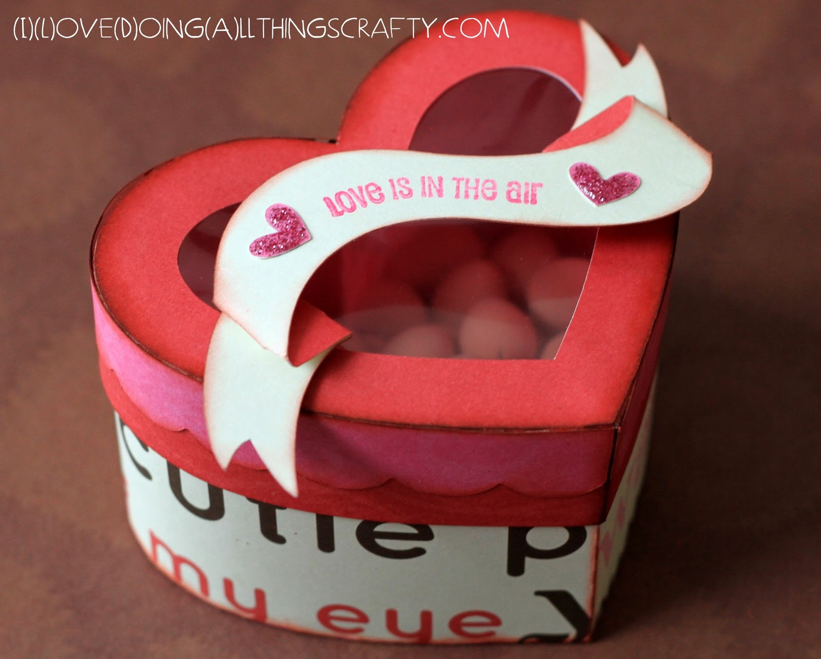 I) (L)ove (D)oing (A)ll Things Crafty!For my ValentineHeart