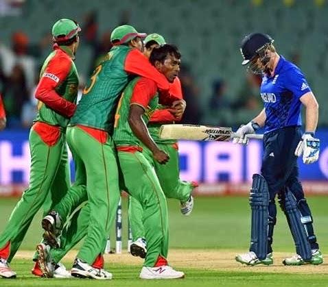 Bangladesh Stun England by 15 Runs