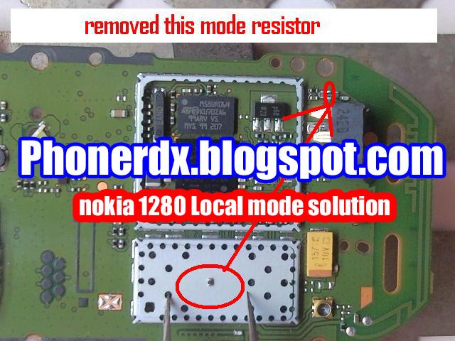 Nokia 1280 Local Mode Problem Solution Phonerdx