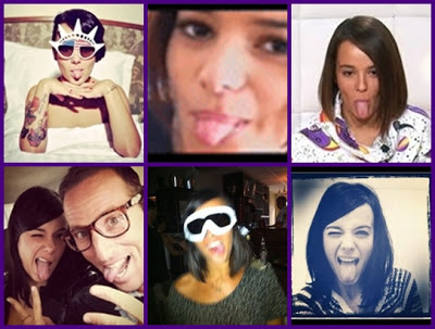 Alizee tongue