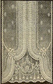 Nottingham Lace Curtain, 1912