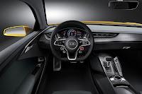 Audi Sport Quattro Concept dash