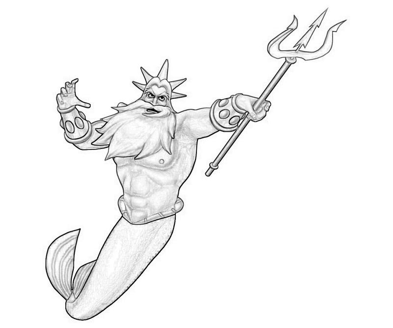 king-triton-skill-coloring-pages