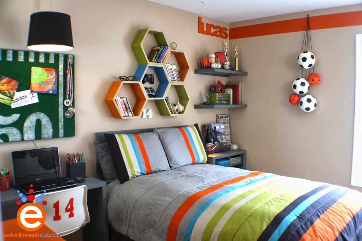 Bricolage e decora o ideias para decora o de quarto de for Boys sport bedroom ideas