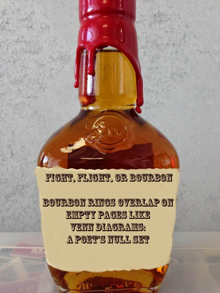 Poem written on a bourbon bottle