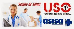 CONVENIO USO-ASISA PARA AFILIADOS/AS.