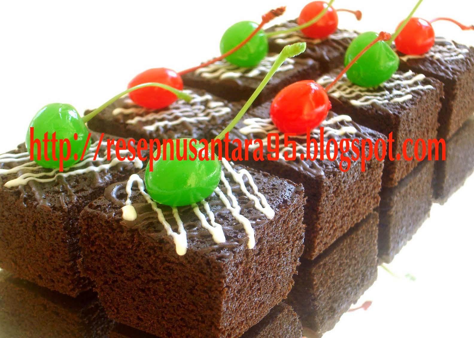 Resp Kue Basah | Resep Brownies Kukus Lezat dan Nimat