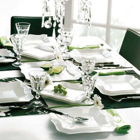 Украса за маса в зелено