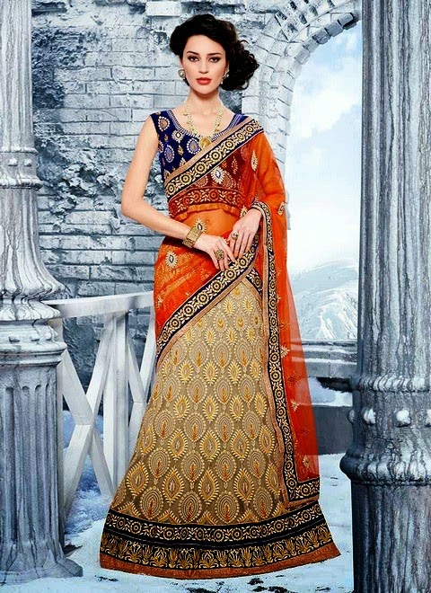 Bridal Lehenga Collection 2014-15