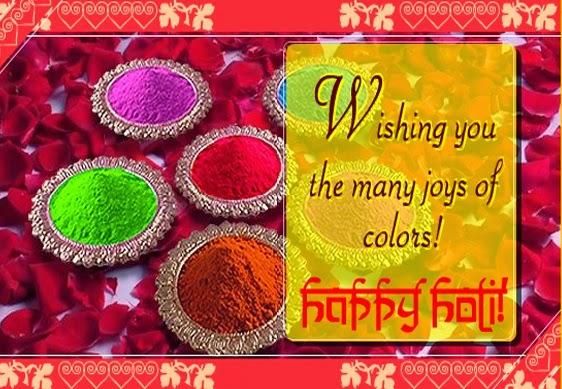 Holi Wishes Cards