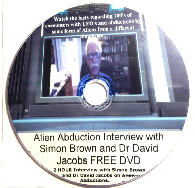 Alien Abduction Interview with Simon Brown and Dr David Jacobs.