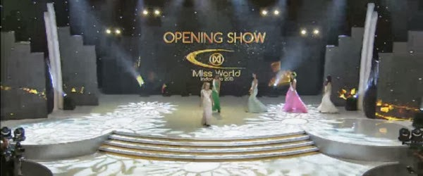 Miss World 2013 Opening Ceremony