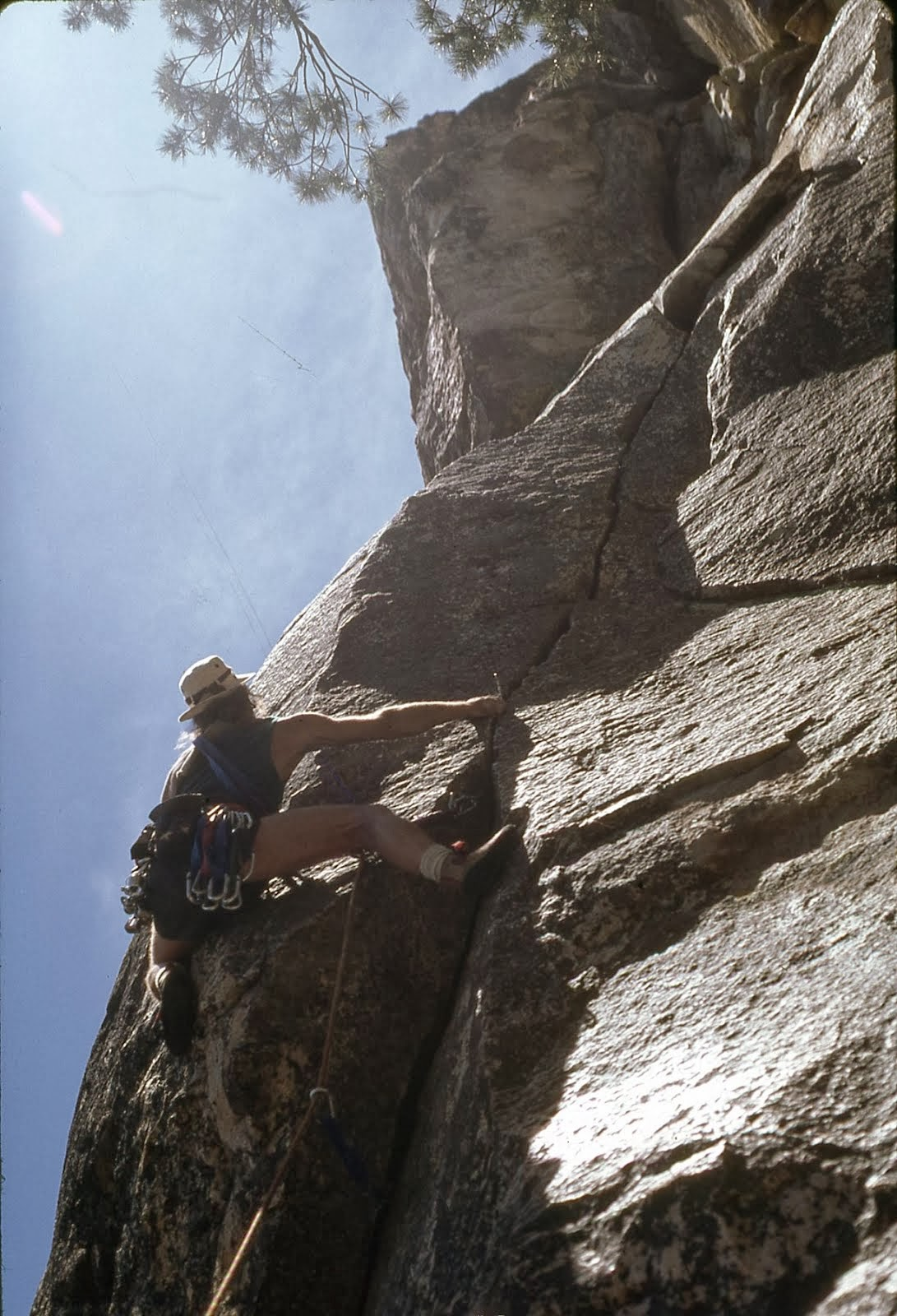 Crux of 'The Beckey Route'