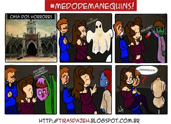 Tiras da Jeh - Medo de Manequim / Castelo dos Horrores