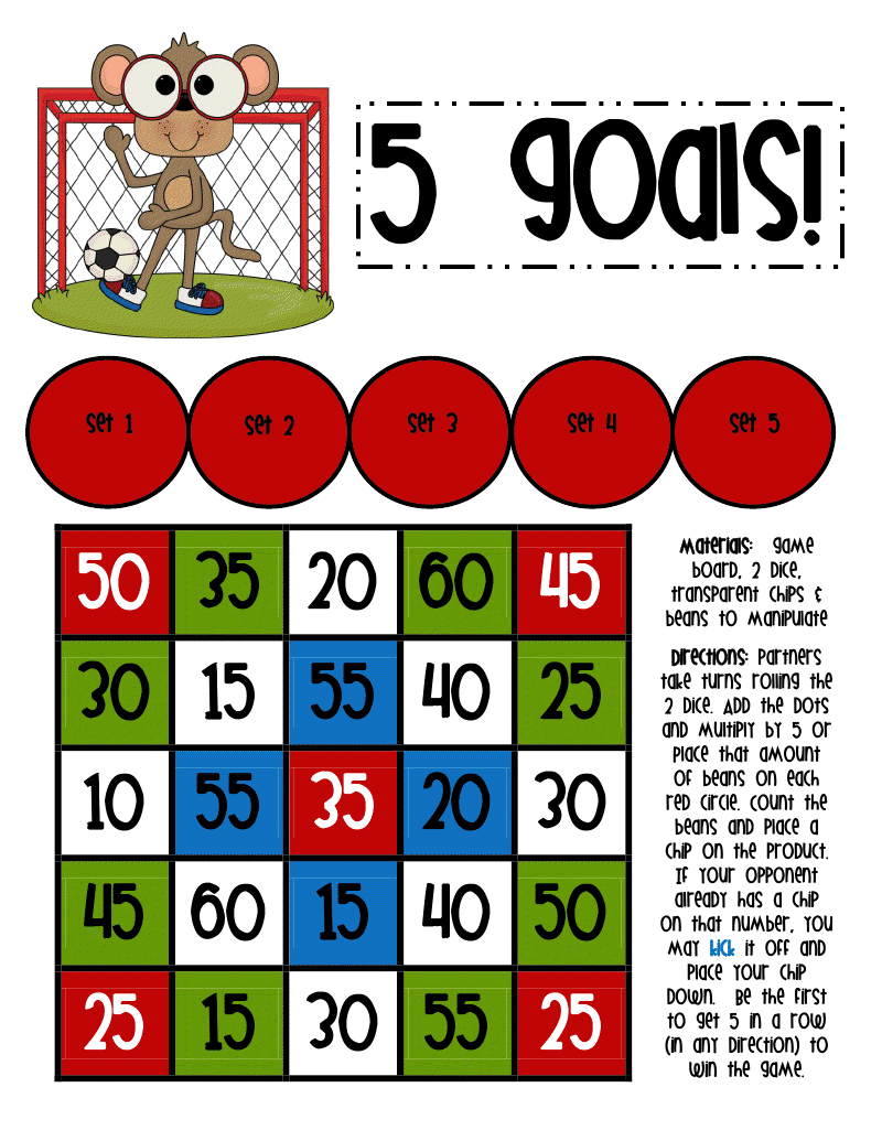 Lory 39 s 2nd grade skills final times table game boards for 100 times table games