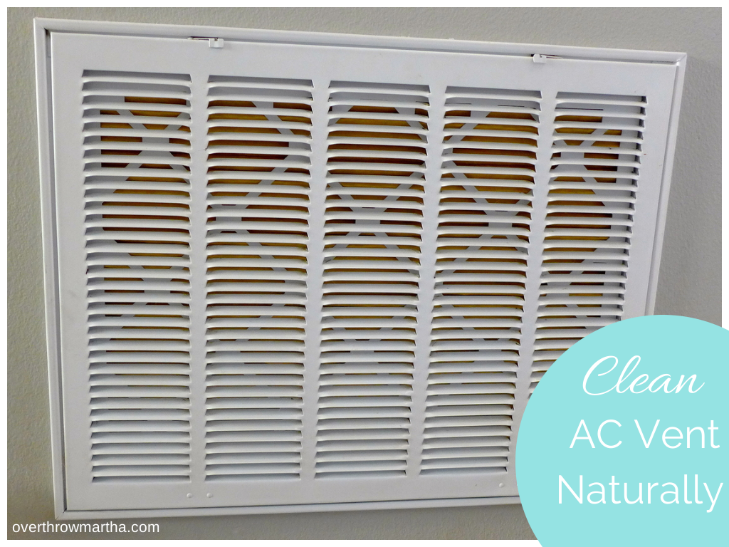 How to clean your indoor AC vent #cleaning