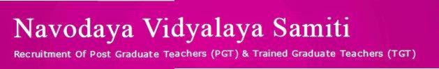 PGT, TGT 2014, 2015 Syllabus Navodaya Vidyalaya Samiti