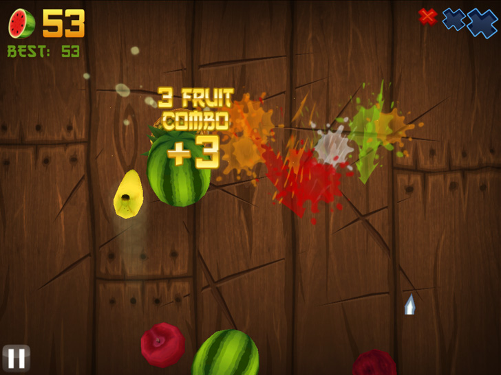 Fruit Ninja Free App Game By Halfbrick Studios