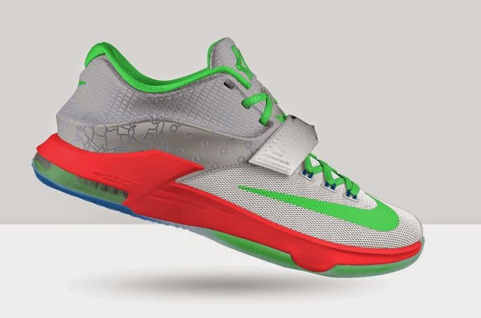 pretty nice fd066 f91ac If your not a fan of the colorway of the KD allstar you can Design Your Own  Nike KD 7 Allstar Edition Sneaker For Limited Time available Now HERE, ...