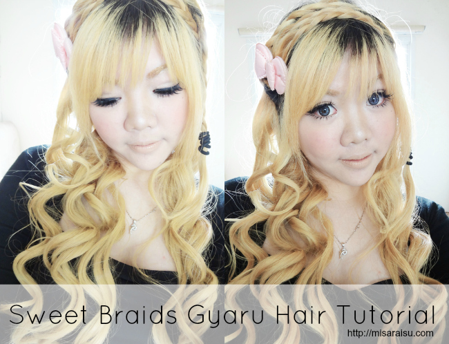 Misaraisu Sweet Braids Gyaru Hair Tutorial