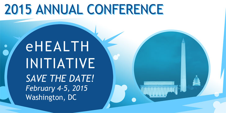 eHealth Initiative 2015 Annual Conference Save The Date Banner Graphic Design