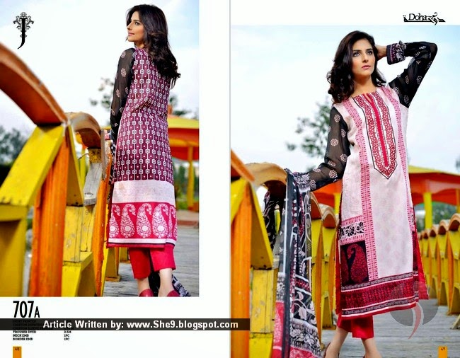 Jubilee Doha Kurti Lawn Collection