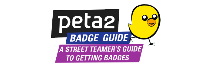 peta2 Badges Guide