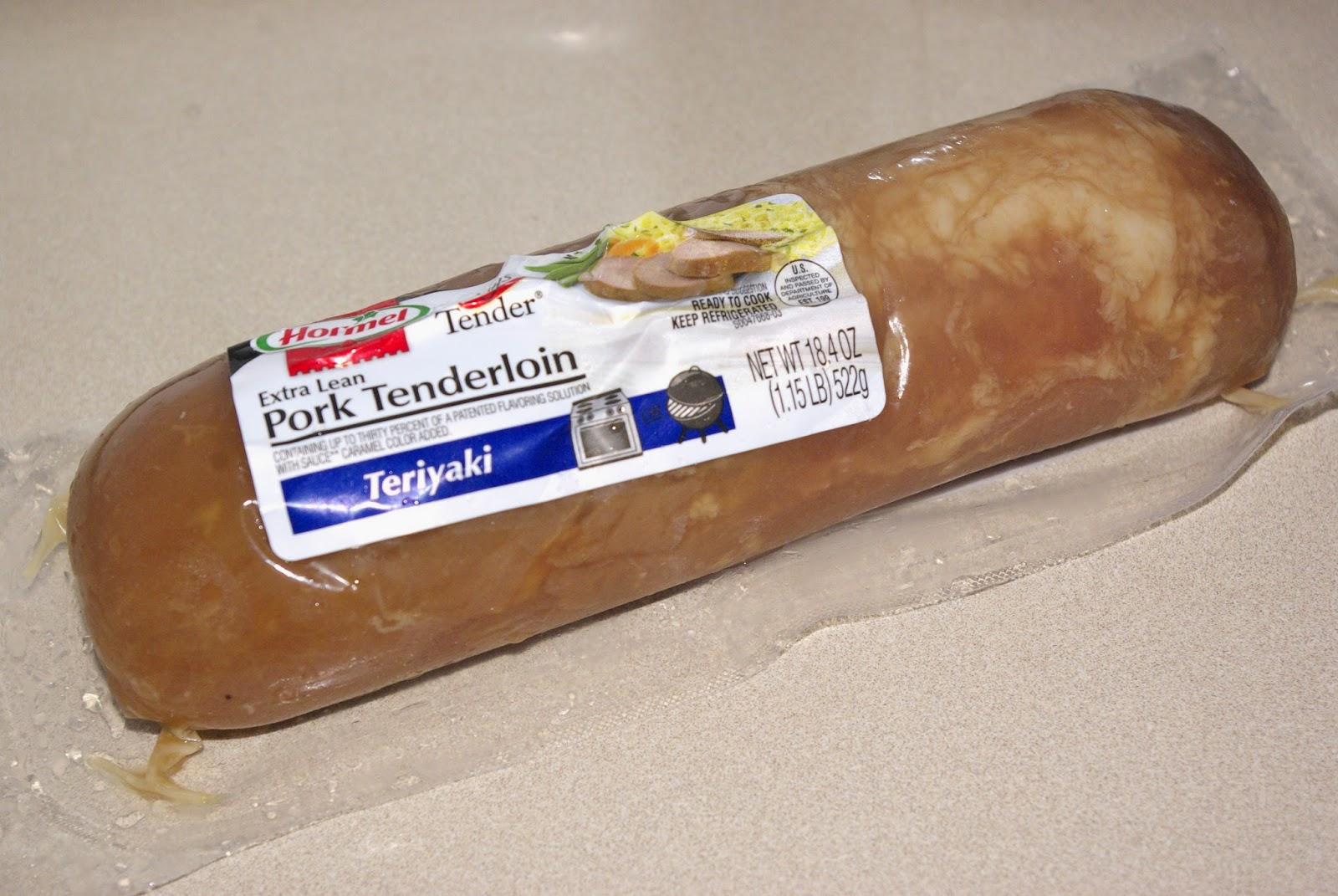 Hormel Extra Lean Pork Tenderloin - Teriyaki