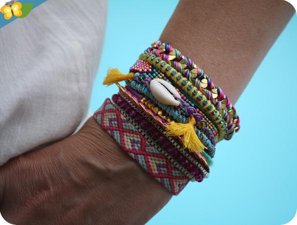 Mon bracelet brésilien & hipanema