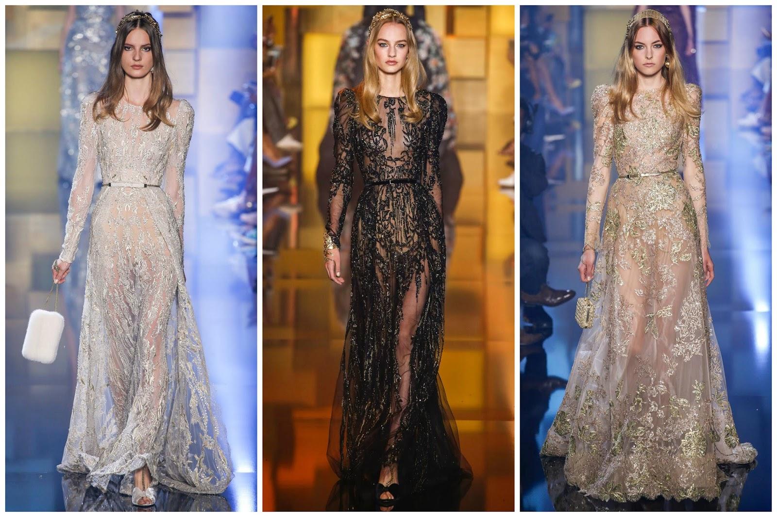 Elie Saab Show 2015 dresses